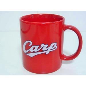 「Carp」「Hiroshima」のロゴがかっこいい!広島カープの正統派マグカップ。  サイズ(外箱...