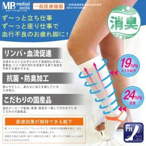 メーカー直販♪2足セット 着圧ソックス 医療用 弾性ストッキング 着圧 メディカルソックス フィット...