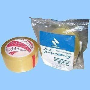 カートンテープ 640-PF 50mm×50m 500巻(個人様宛不可・要事業者名)(PPテープ)(事業者様向け)(代引不可) sunpack