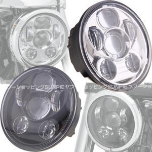 新型LED ヘッドライトユニット Harley オートバイ ...