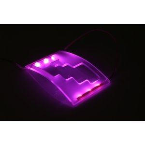 2#系 アルファード ヴェルファイア LED シフトゲート イルミネーション SMD 6連内蔵 ホワイト/パープル/ピンク/ブルー