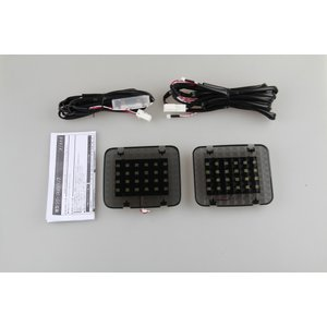 LED ラゲッジランプ 増設キット ルームランプ エルグランド E51用 ホワイト 激光 安全便利 一年保証|sunpie
