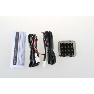 LED ラゲッジランプ 増設キット ルームランプ 新型 フィット GK3〜6 GP6用 ホワイト 激光 安全便利|sunpie