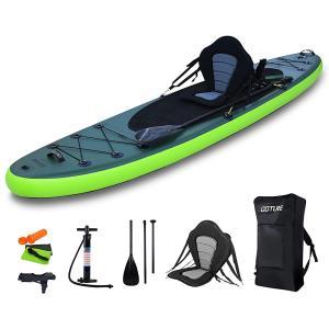 スタンドアップパドルボード 初心者 sup サップボード 釣り用 1人乗り PVC材質 インフレータブル パドルボード フィッシング|sunpie