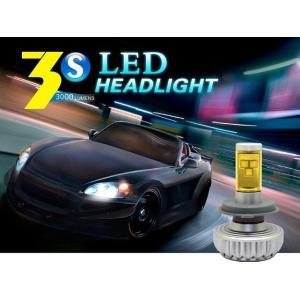 LEDヘッドライト フォグランプ H4 Hi/Lo H7 H8 H11 H16 HB3 HB4  6000LM 56W ファンレス 12V/24V兼用 CREE XML2素子/アルミヒートシンク搭載 カラーフィルム付き