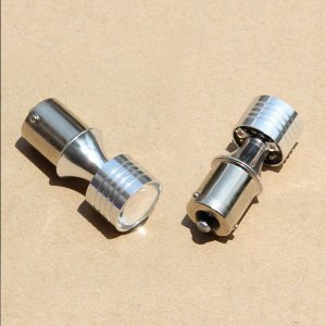 LED バルブ CREE S25S/BAU15S LEDシングル球 20W 150°ピン角違い ウインカー/バックランプ/ストップランプ/コーナーランプ等に 2個セット|sunpie