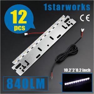 汎用 LED ナンバープレート ライセンスランプ バックランプ 12W 840LM DC12V ホワイト白 防水仕様|sunpie