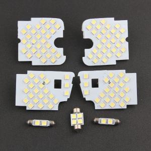 MAZDA マツダ CX-5専用 LED ルームランプ セット 室内灯 純白 3チップ SMD 7点112発 ラゲッジ ホワイト 取付工具付き|sunpie