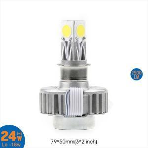 LED ヘッドライト HI/LO H4 PH7 PH8 フォグランプ バイク用 3面発光 24W 2500LM Hi/Lo 白 冷却ファン ledh4 LEDライト 1年保証|sunpie