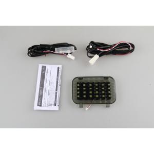 LED ラゲッジランプ 増設キット ルームランプ リアラゲッジ ホワイト TOYOTA トヨタ ノア・ヴォクシー80系用 バックドアに 激光 安全便利|sunpie