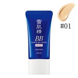 KOSE コーセー 雪肌精 ホワイト BB クリーム モイスト #01 LIGHT OCHRE SPF40・PA+++ 30g|sunplace