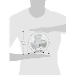 タイムリー スチール製USB扇風機 20cm型 ホワイト STEEL-UFAN-WH|sunrise-eternity