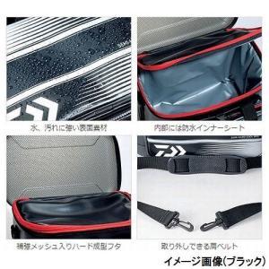 ダイワ(Daiwa) タックルバッグ セミハードクールバッグ 12(C) レッド|sunrise-eternity