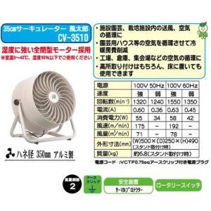 ナカトミ 35cm サーキュレーター 風太郎 CV-3510 sunrise-eternity