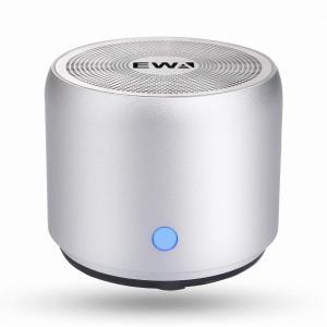 EWA A106 ワイヤレス Bluetoothコンパクトスピーカー(シルバー)|sunrise-eternity