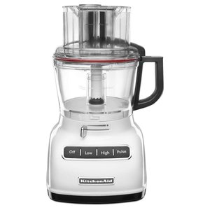 KitchenAid KFP0930WH 9-Cup Food Processor with Exact Slice System and|sunrise-eternity