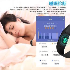 最新版 スマートウォッチ 心拍計 血圧計 スマートブレスレット 防水 歩数計 活動量計 LINE 電話 着信通知 睡眠検測 タッチ操作 iP|sunrise-eternity