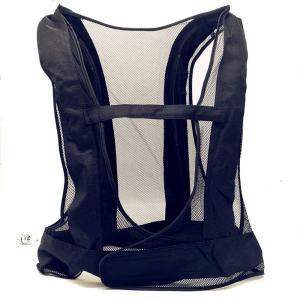 熱中症対策溶接作業 クールベスト 冷却ベスト作業服だけ フリーサイズ (黒)|sunrise-eternity