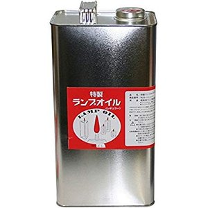 LINDEN(リンデン) 液体燃料 特製ランプオイル レギュラー 4リットル 缶入り NL81040000|sunrise-eternity