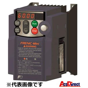富士電機FRN3.7C2S-2J インバーター FRENIC-Mini 三相 200V (三相モーター制御用) 省エネ インバータ 標準形|sunrise-eternity