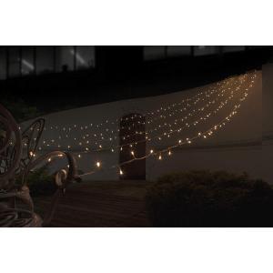 タカショー イルミネーション ロングカーテン 250球 シャンパンゴールド|sunrise-eternity