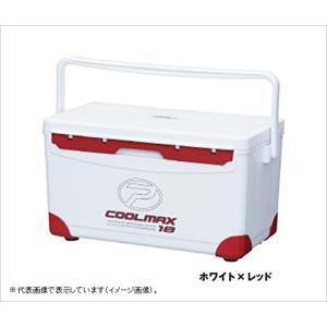 プロックス クーラーボックス (PROX) クールマックス18 CMAX18PR ホワイト×レッド ...