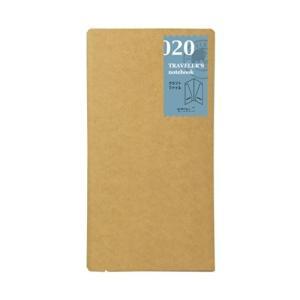 トラベラーズノート traveler's notebook リフィル クラフトファイル 020 14...
