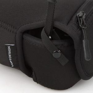 HAKUBA 一眼カメラケース ルフトデザイン スリムフィット カメラジャケット M-110 ブラッ...
