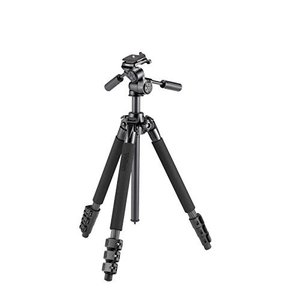 Velbon 三脚 Carmagne E5400 II 4段 レバーロック 脚径25mm 中型 3W...
