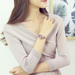 GOHUOS レディース 腕時計 アナログ ステンレス ベルト 日本製クオーツ ウオッチ 女性用 時計(ゴルード) sunrise-eternity