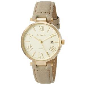 フィールドワークFieldwork 腕時計 ファッションウォッチ トード アナログ 革ベルト 日付表示 グレー ST161-8|sunrise-eternity
