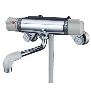 ミズタニバルブ 浴室用シャワー混合栓 壁付サーモシャワー水栓 グレーハンドル MB700BK|sunrise-eternity