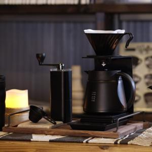HARIO (ハリオ) V60 メタル コーヒードリッパー コーヒードリップ 1~4杯用 マットブラック VDM-02-MB|sunrise-eternity