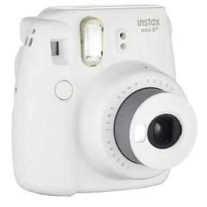 FUJIFILM インスタントカメラ チェキ instax mini8プラス 接写レンズ・純正ハンドストラップ付き バニラ INS MINI|sunrise-eternity