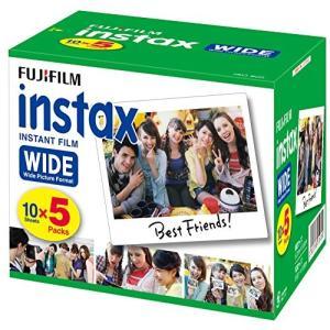 FUJIFILM インスタントカメラ ワイド用フィルム 50枚入 INSTAX WIDE K R 5|sunrise-eternity