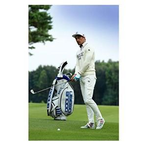 ドゥーカス DOCUS メンズ ゴルフ ツアーモデル キャディバッグ 10インチ DCC734 DarkGray-Yellow,選択|sunrise-eternity
