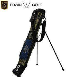 EDWIN GOLF エドウィンゴルフ セルフスタンド ラウンドバック SS007 (グリーンカモ)|sunrise-eternity