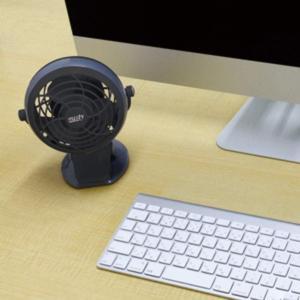 カシムラ KJ171 USBクリップ扇風機 ブラック