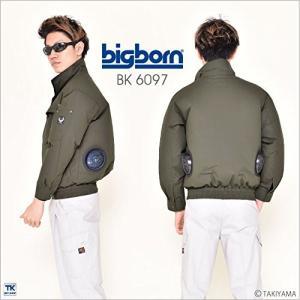 ビッグボーン長袖ブルゾン 空調服単品コットンブロード 綿100% 夏 bb-bk6097-t カーキ 5L sunrise-eternity