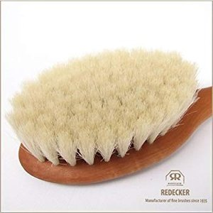 Redecker レデッカー 天然素材のベビーブラシ山羊毛 sunrise-eternity