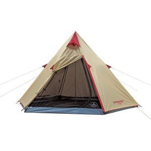 キャプテンスタッグ(CAPTAIN STAG) テント テント アルミワンポールテント 300UV UA-16 ティピー型 3~4人用 PU|sunrise-eternity