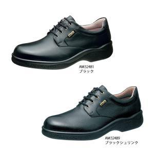 メンズ ビジネスシューズ ゴアテックスファブリクス 幅広 4E 防水 通勤快足 TK32-48|sunrise-shoes