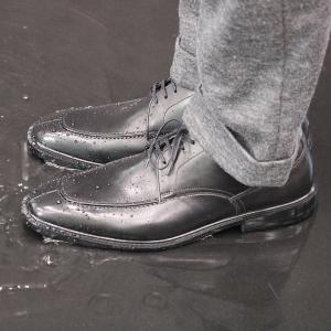 父の日 プレゼント メンズ ビジネスシューズ 防水 ゴアテックスファブリクス 通勤快足 TK3308|sunrise-shoes