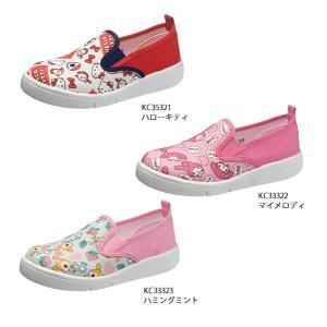スニーカー キッズ スリッポン サンリオキャラクター P068|sunrise-shoes