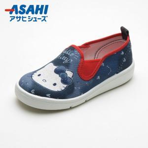 キッズ スニーカー スリッポン サンリオキャラクター P074 ハローキティ|sunrise-shoes
