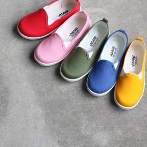 キッズ スニーカー 通園・普段履きにおすすめ アサヒ P107|sunrise-shoes