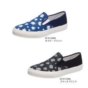 レディース スリッポンタイプ サンリオ ハローキティ L055|sunrise-shoes