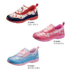 キッズ サンリオ 靴 スリッポン かわいい サンリオ P066|sunrise-shoes