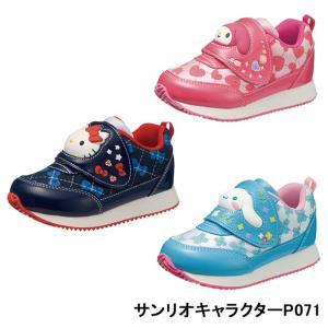 キッズ サンリオ 靴 スニーカー かわいい サンリオ P071|sunrise-shoes