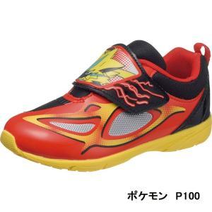 キッズ スニーカー 靴 ゼラオラ かっこいい ポケモン P100|sunrise-shoes